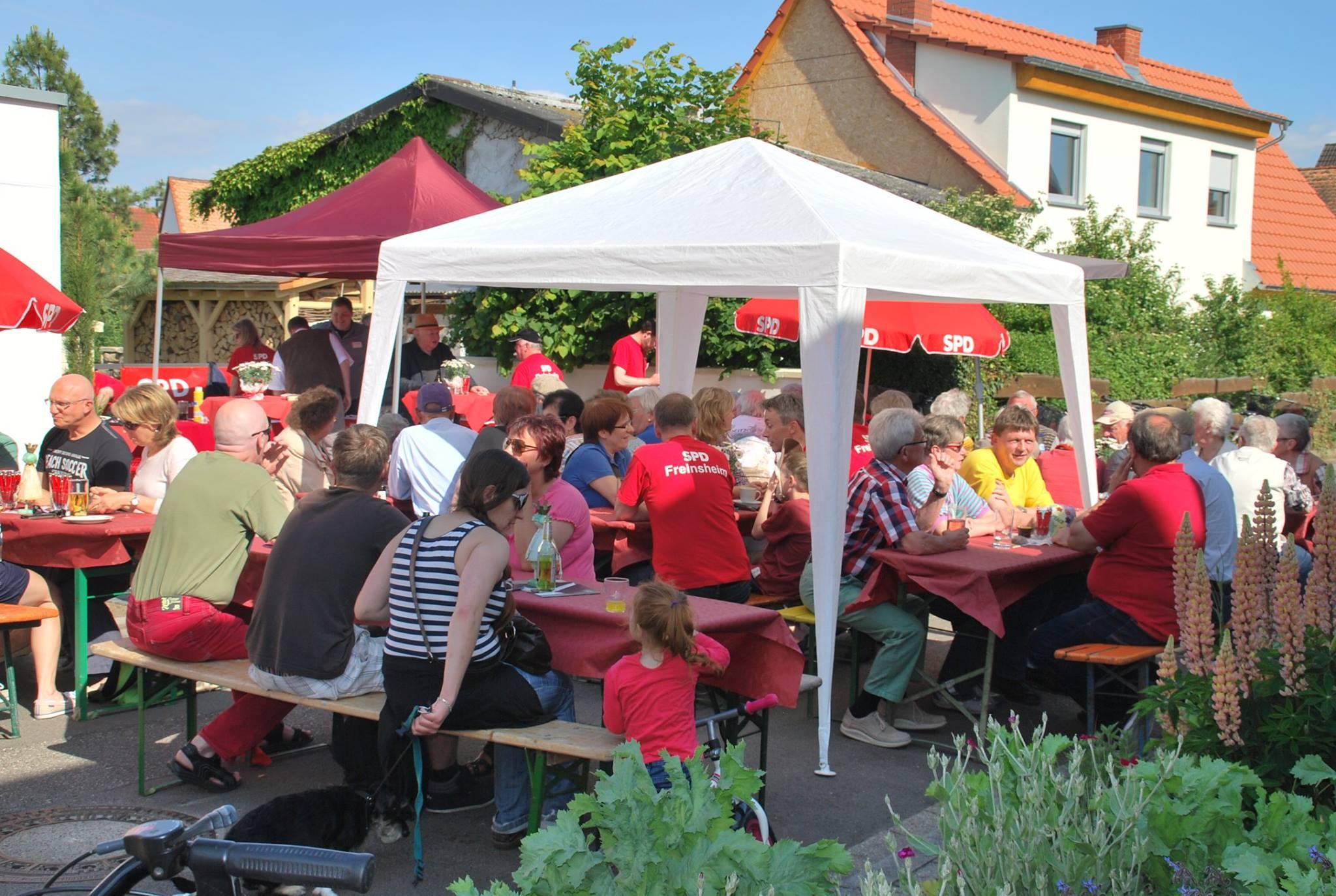 Rotes Straßen Café